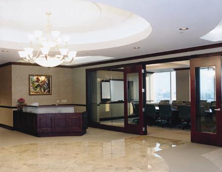 Lobby at Huntington Bank Capital Plaza