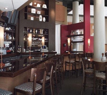 Hue Restaurant Bar Area