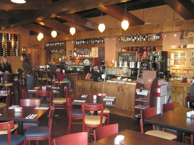 Restaurant Seating at Harmoni Market