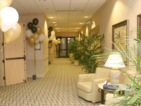Interior at Hampton Inn