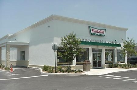 Exterior of Krispy Kreme University Blvd. in Orlando