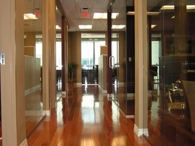Hallway at Foster & Klinkbeil Law Firm