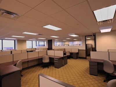 Work Area at Morgan and Morgan Call Center in Downtown Orlando