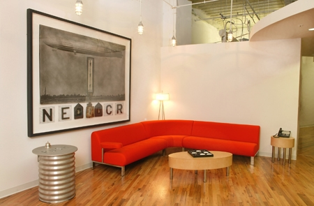Seating Area at Push in Downtown Orlando
