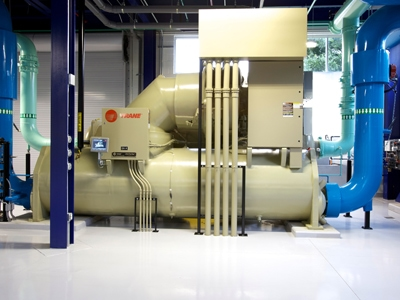 Equipment at OUC Chiller Plant
