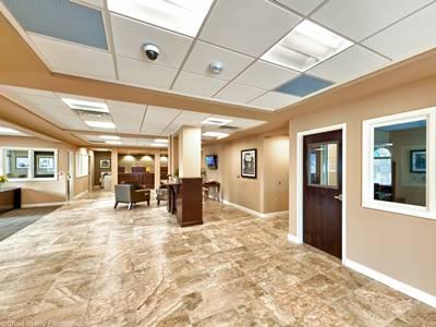 Lobby and Teller Windows at Old Florida National Bank