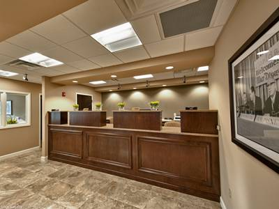 Teller Area at Old Florida National Bank in Orlando