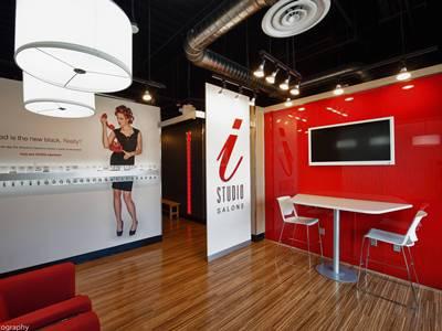 Lobby Inside i-Studio Salon at Rialto Mall