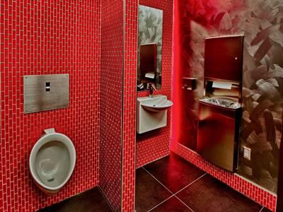 Restroom Inside i-Studio Salon Rialto Mall