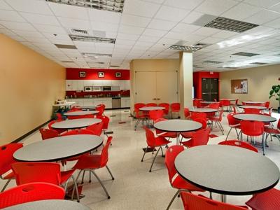 Break Room with Tables in LensAR