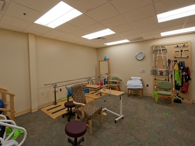 Rehabilitation Room at Village on the Green