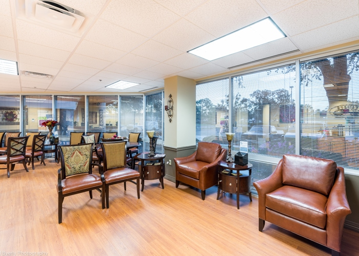 United Healthcare's WellMed Waiting Area