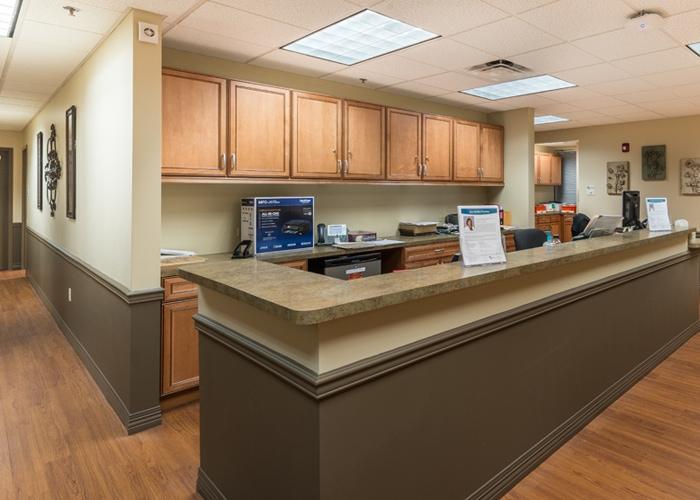 Work Area Inside WellMed in Longwood, FL