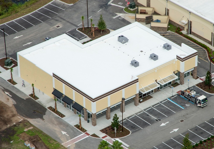 Aerial View of Nona Park Retail I
