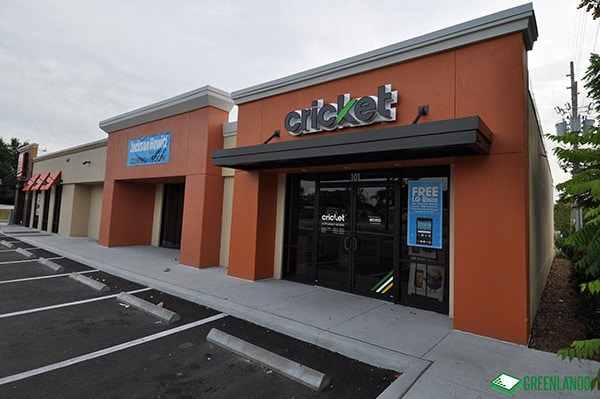 Cricket Wireless at Conway Retail After Renovation
