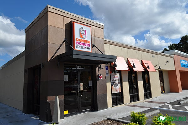 Dunkin Donuts at Conway Retail After Renovation