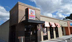 Dunkin Donuts in Conway Retail Center Renovation Project