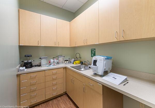 Work Area in Sage Dental in Oviedo, FL