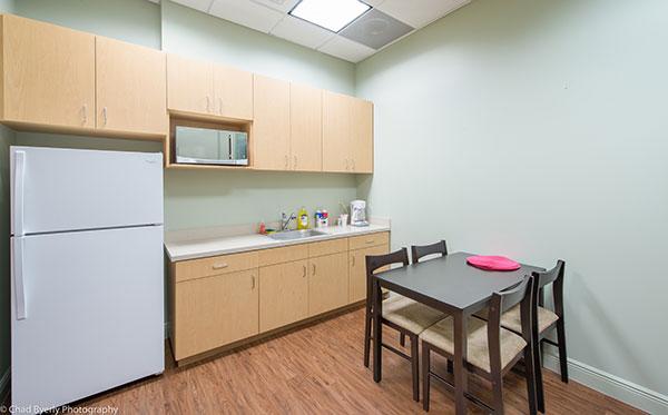 Break Room Inside Sage Dental in Oviedo, FL