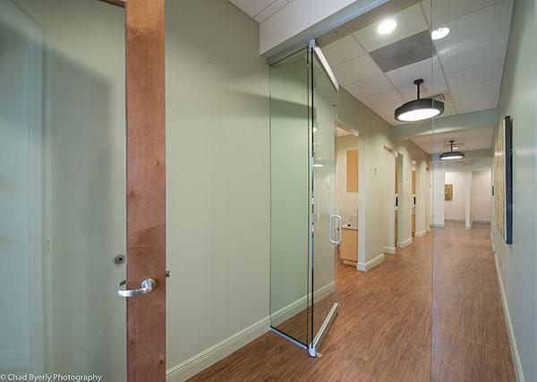 Hallway View Sage Dental Oviedo, FL