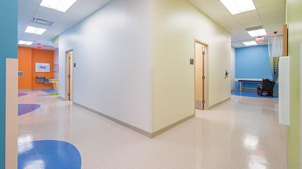 Interior View of Nemours Children's Urgent Care in Lake Nona, FL