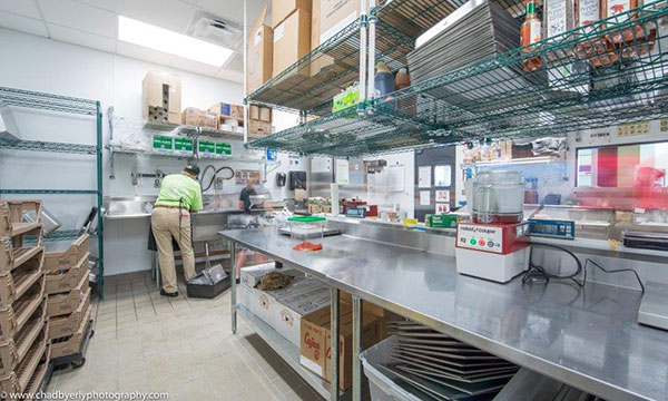 Kitchen Area at Chicken Salad Chick in Lake Nona
