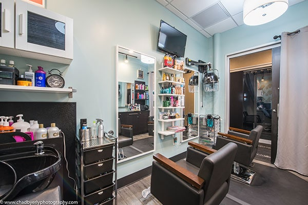 One of the Salon Suites at i-Studios in Winter Garden