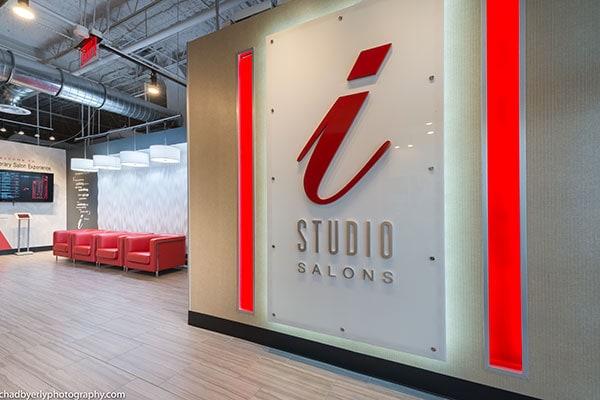 i-Studio Main Interior Signage