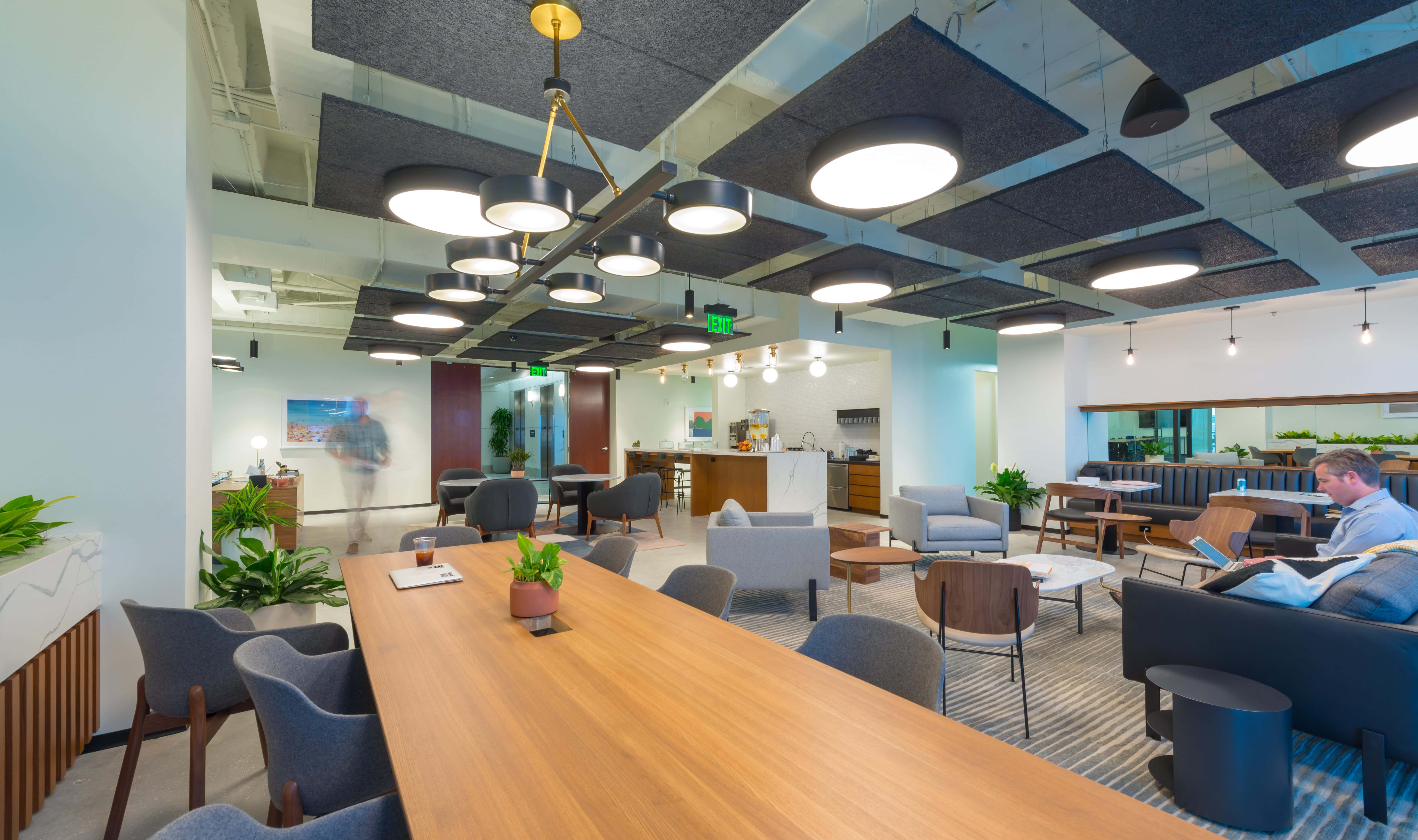 Workspace Located Inside Industrious in Downtown Orlando