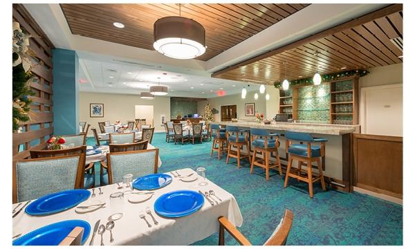 Mayflower Dining Room Bar Area