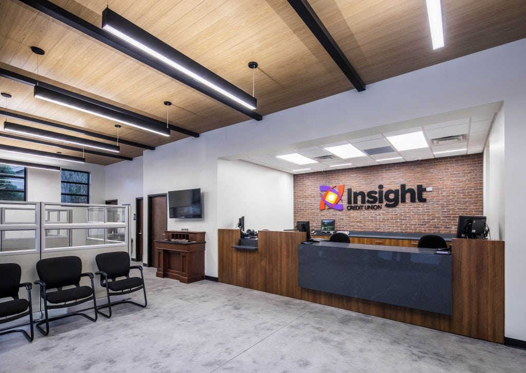 Insight Credit Union Lobby