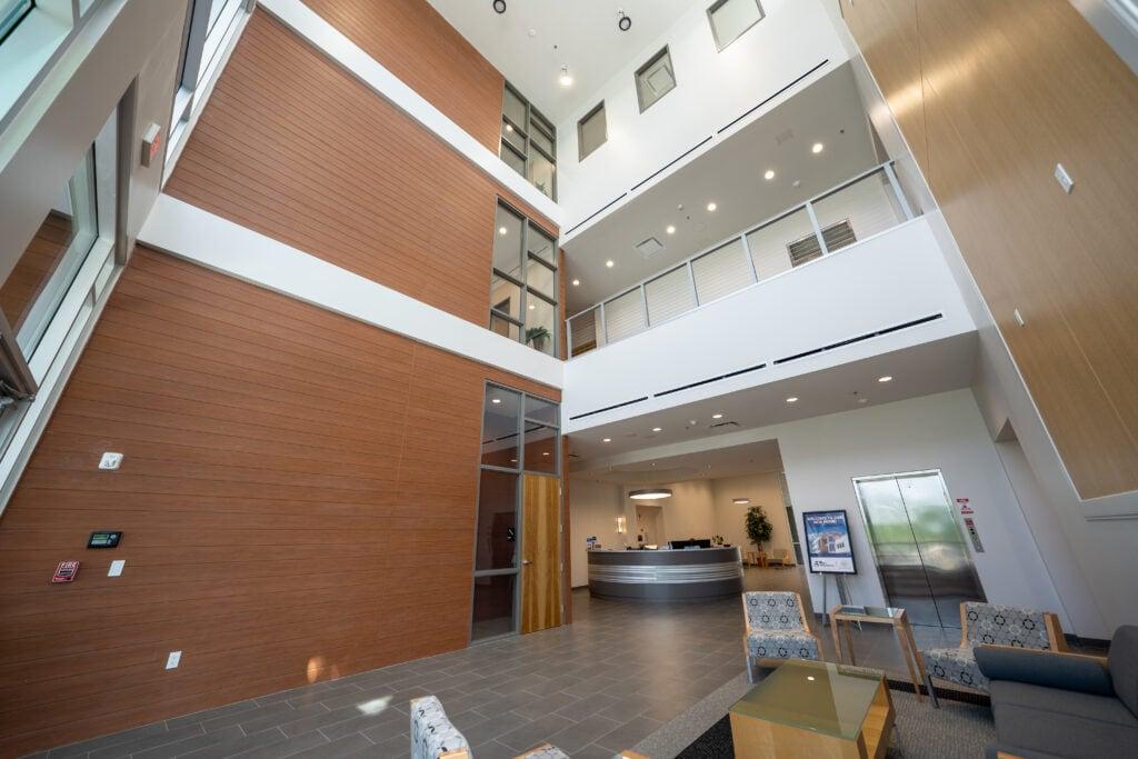 AVT Lobby and Reception Desk