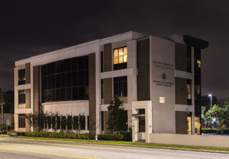 Side view of Keating & Schlitt offices in downtown Orlando.